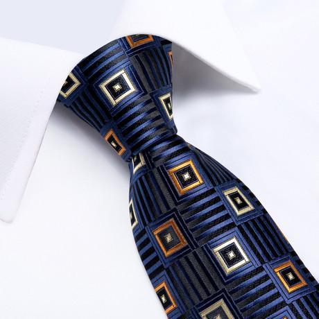 Whistler Handmade Silk Tie // Navy