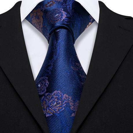 Mercy Handmade Silk Tie // Navy