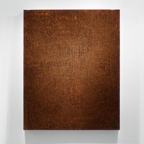 "ROZE (Copper) // Commissioned (18""W x 24""H x 2""D)"