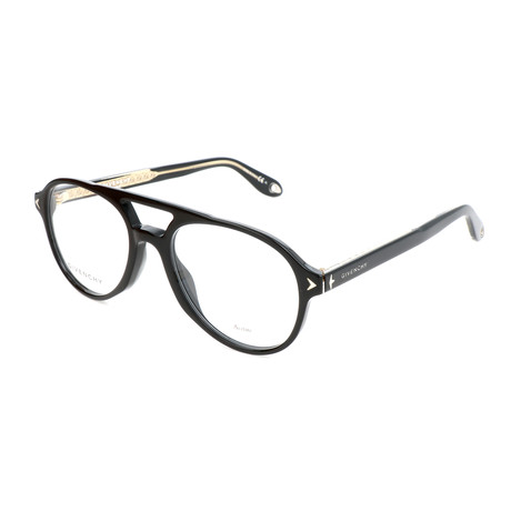 Givenchy // Unisex Round GV-0066-807 Optical Frames // Black