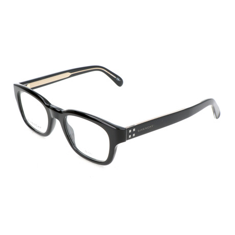 Men's Rectangle GV-0090-807 Optical Frames // Black