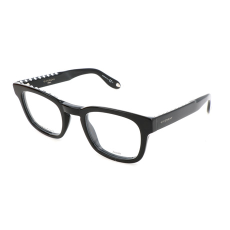 Unisex Rectangle GV-0006-807 Optical Frames // Black
