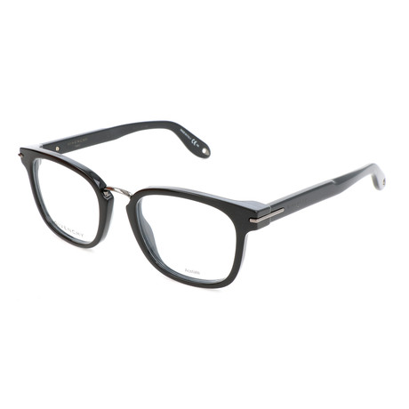 Unisex Rectangle GV-0033-807 Optical Frames // Black