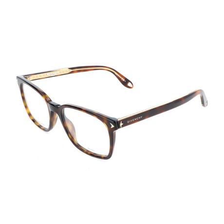 Men's Rectangle GV-0067-06J Optical Frames // Dark Havana