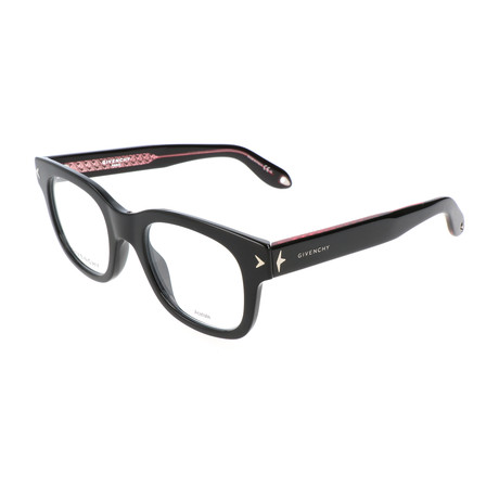 Unisex Rectangle GV-0032-HON Optical Frames // Black