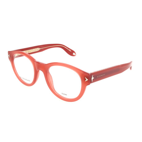 Givenchy // Unisex Rectangle GV-0031-TVE Optical Frames // Red