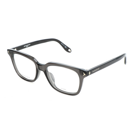 Unisex Rectangle GV-0068-F-KB7 Optical Frames // Gray