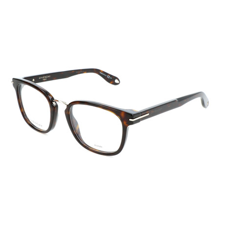 Unisex Round GV-0033-086 Optical Frames // Dark Havana