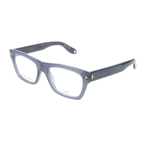 Unisex Rectangle GV-0017-RU2 Optical Frames // Gray Opal