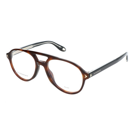 Unisex Round GV-0066-086 Optical Frames // Dark Havana