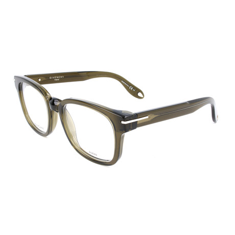 Unisex Rectangle GV-0001-X4N Optical Frames // Green
