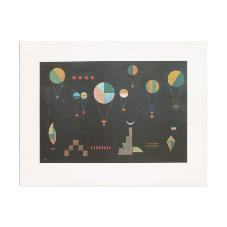 Plat Profond // Wassily Kandinsky