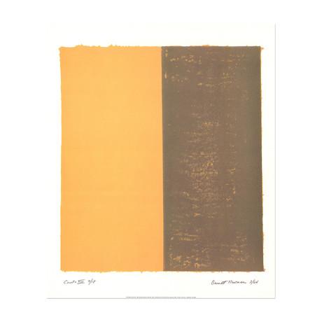 Canto XIII // Barnett Newman