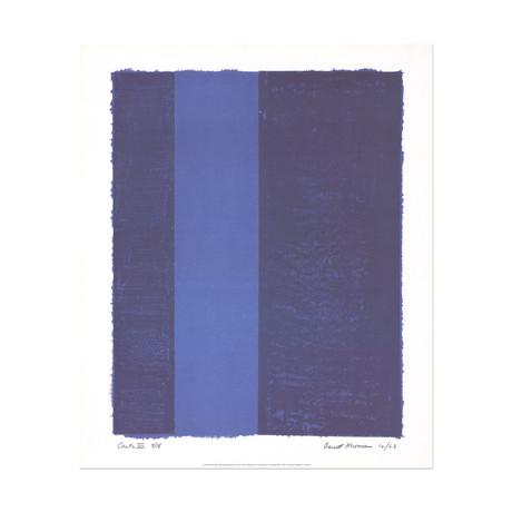 Canto VII // Barnett Newman