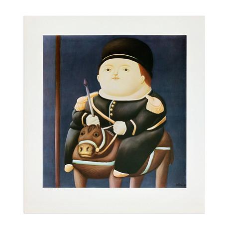 St Georg // Fernando Botero