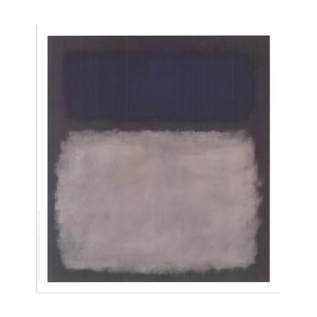 Blue & Gray, No Text // Mark Rothko