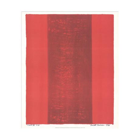 Canto XV // Barnett Newman