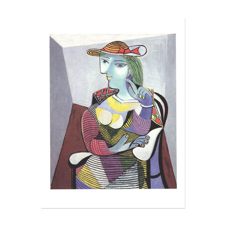 Portrait of Marie Therese // Pablo Picasso