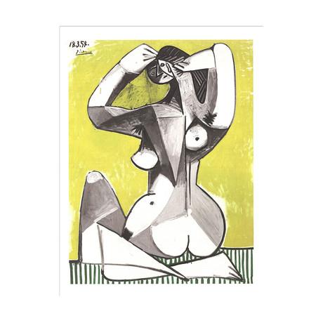 Nu Accroupi // Pablo Picasso