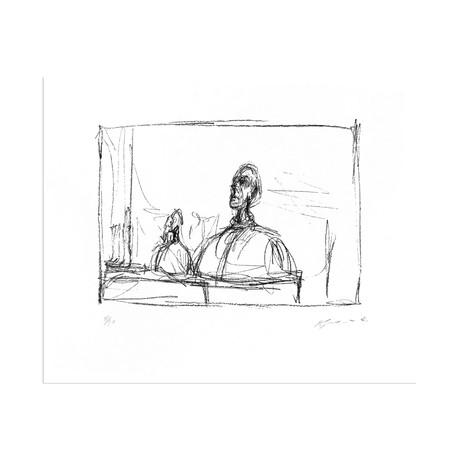 Buste // Alberto Giacometti