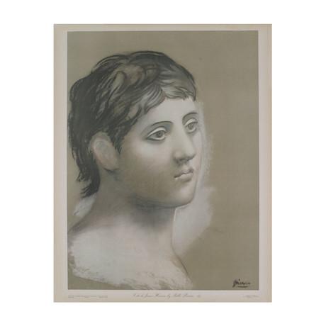 Tete de Jeune Homme // Pablo Picasso