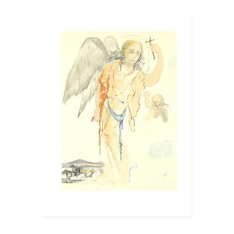 Angel with Cross // Salvador Dali