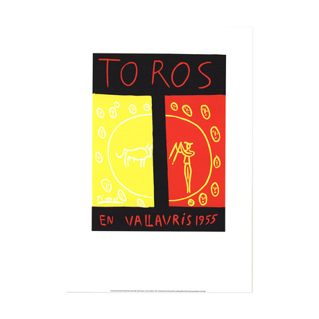 Toros En Vallauris // Pablo Picasso