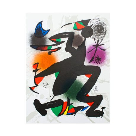 Litografia original IV // Joan Miro
