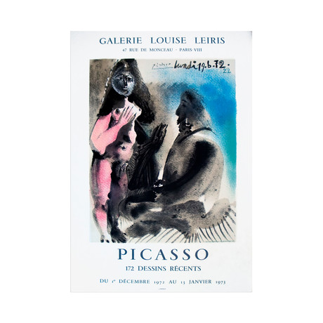 172 Dessins Recents // Pablo Picasso