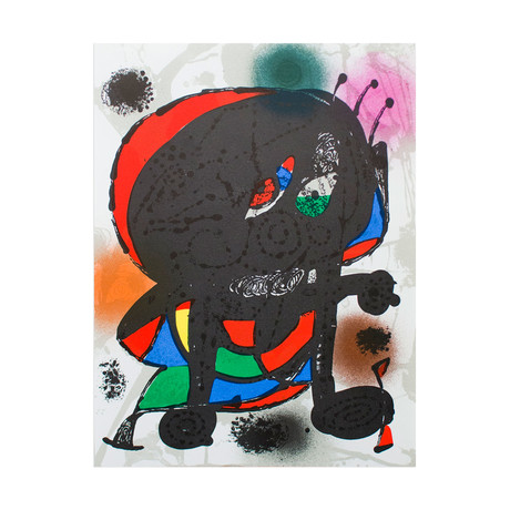 Litografia original III // Joan Miro