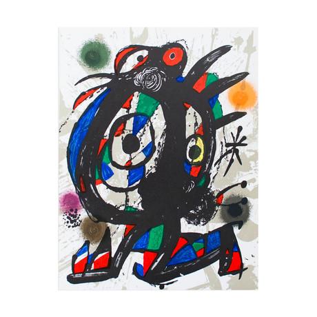 Litografia original I // Joan Miro