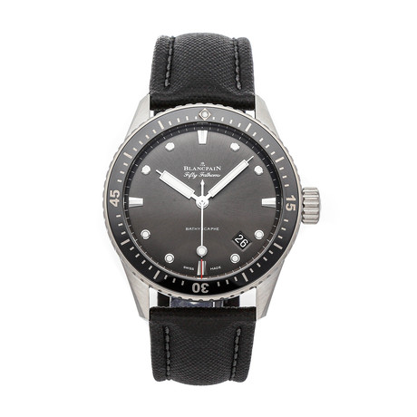 Blancpain Fifty Fathoms Bathyscaphe Automatic // 5000-1110-B52A // Pre-Owned
