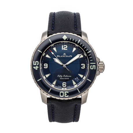 Blancpain Fifty Fathoms Automatic // 5015-12B40-O52A // Pre-Owned