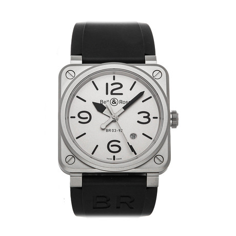 Bell & Ross Horoblack Automatic // BR0392-GBL-ST/SR // Pre-Owned