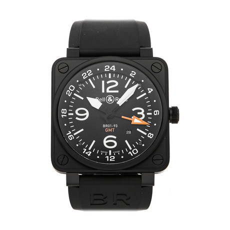 Bell & Ross GMT Automatic // BR0193-GMT // Pre-Owned