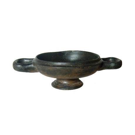 Greek Ceramic Lekanis // c. 4th Century BC