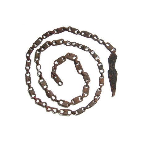 Medieval Sword Chain Belt // 10th - 14th Century AD