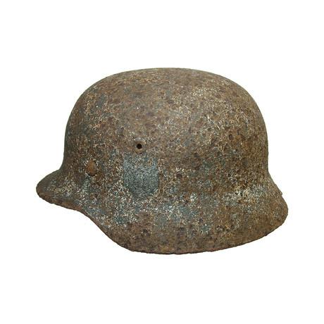 WWII German Army Helmet // Battlefield Found