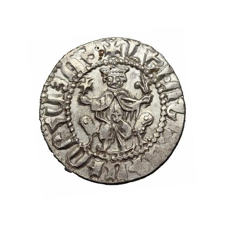 Medieval Armenia, King Levon I, 1198-1219 AD // Silver Coin
