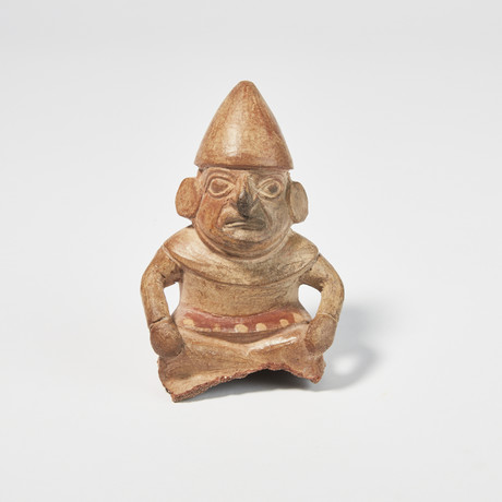 Beautifully Detailed Moche Figure // Pre-Columbian, c. 400 - 700 AD