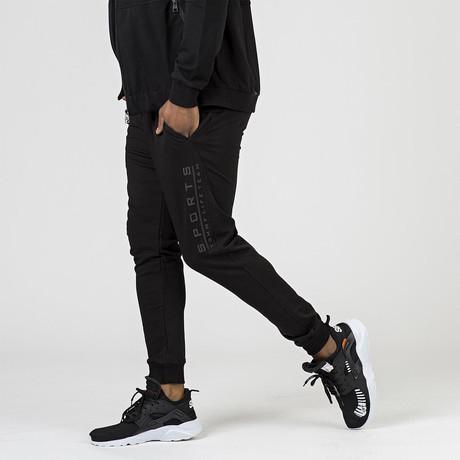 Ryan Tracksuit Bottom // Black (XS)