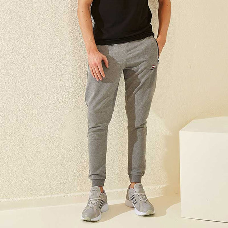 Alex Tracksuit Bottom // Gray Melange (XS)