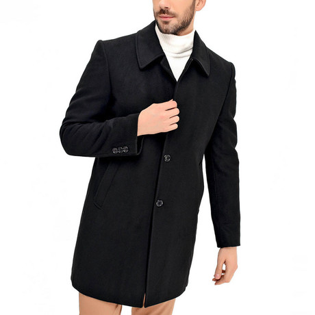Yosemite Overcoat // Black (Medium)