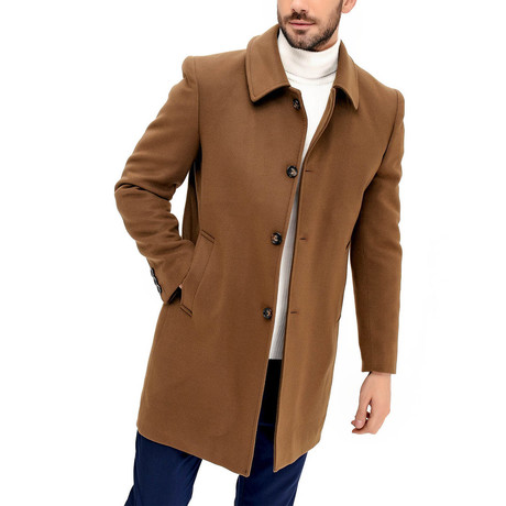 Yosemite Overcoat // Camel (Small)