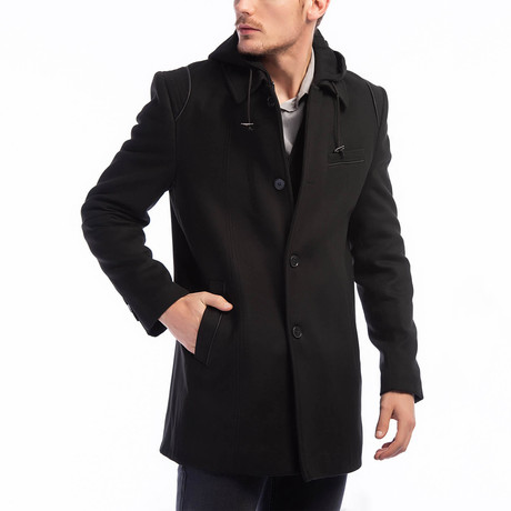 Hamptons Overcoat // Anthracite (Small)