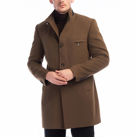 Seville Overcoat // Camel (Small)