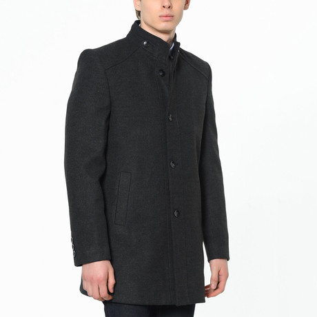 Canyon Overcoat // Anthracite (Small)