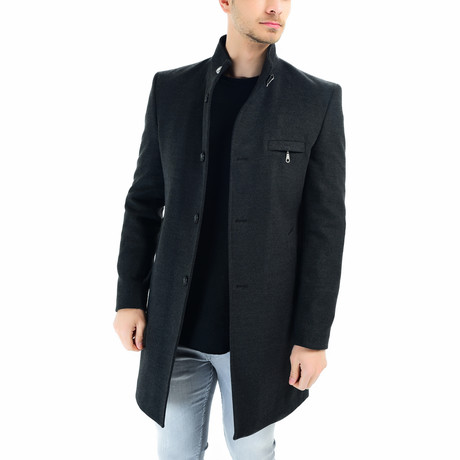 Seville Overcoat // Anthracite (Small)