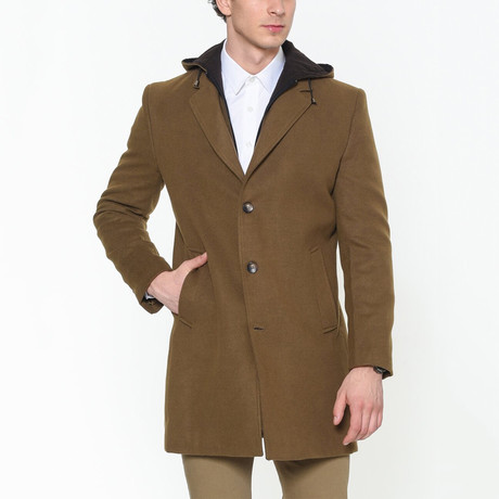 Eric Overcoat // Camel (Small)