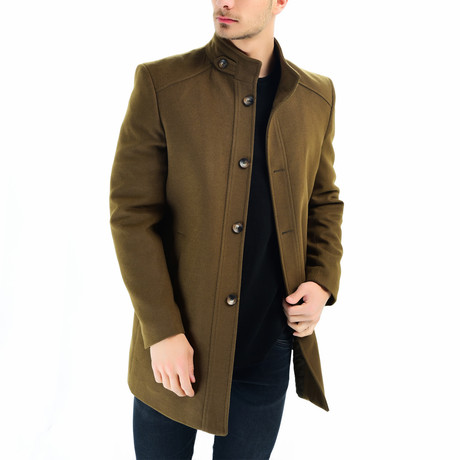 Canyon Overcoat // Camel (Small)